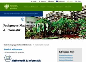 math.uni-wuppertal.de