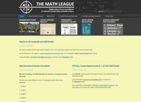 mathleague.com