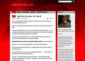 mathpickuplines.com