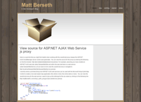 Mattberseth.com