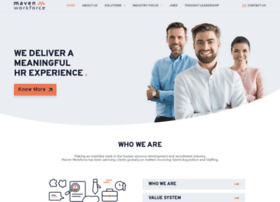 mavenworkforce.com