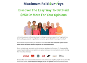 maximumpaidsurveys.com