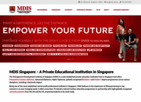 mdis.edu.sg