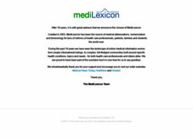 Medilexicon.com