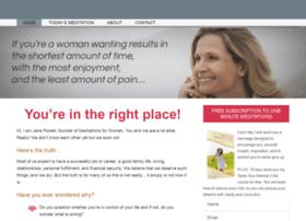 meditationsforwomen.com