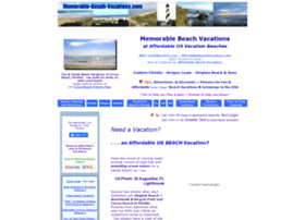 memorable-beach-vacations.com