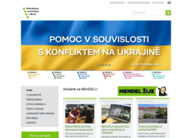 mendelu.cz