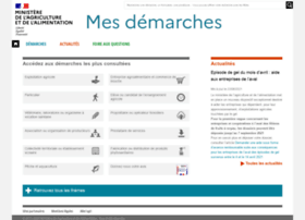 Mesdemarches.agriculture.gouv.fr