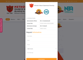 methodist.edu.in
