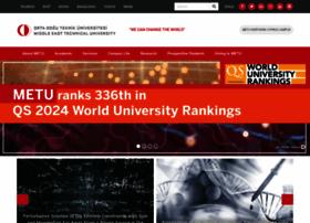 metu.edu.tr