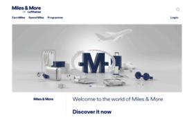 milesandmore.com
