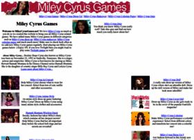 mileycyrusgames.net