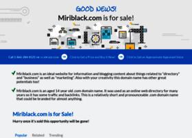miriblack.com