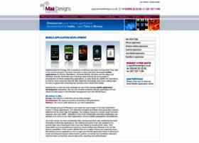 Mobile-application.maadesigns.co.uk