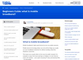 mobile.broadbandgenie.co.uk