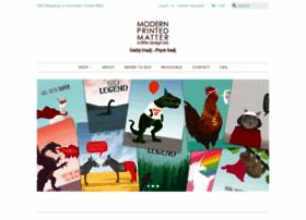 modernprintedmatter.com