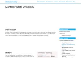 montclair.stateuniversity.com