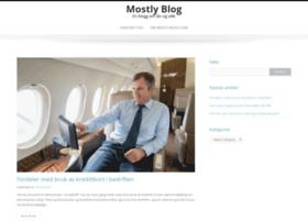 mostlyblog.com
