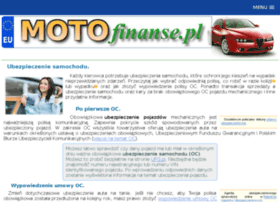 Motofinanse.pl