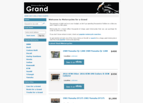 Motorcyclesforagrand.com