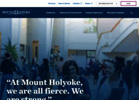 mtholyoke.edu