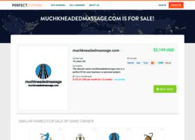 muchkneadedmassage.com