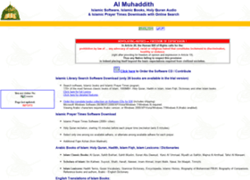 muhaddith.org