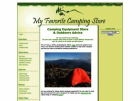 My-favorite-camping-store.com