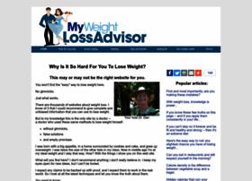 my-weight-loss-advisor.com