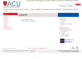 my.acu.edu.au