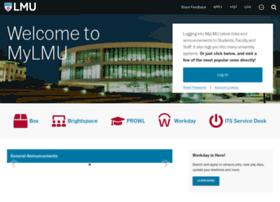 my.lmu.edu