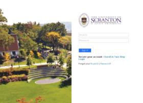 My.scranton.edu