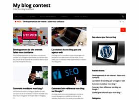 myblogcontest.com