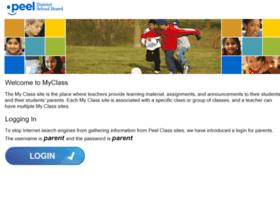 Myclass.peelschools.org