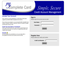 Mycompletecardsolution.com