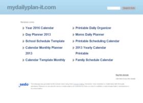 mydailyplan-it.com