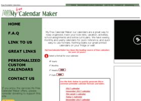 myfreecalendarmaker.com