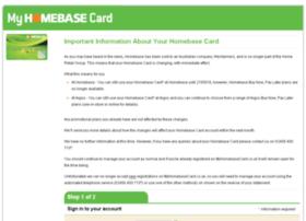 Myhomebasecard.co.uk
