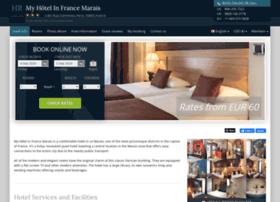 Myhotel-infrance-lemarais.h-rez.com
