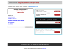 myincomestory.com