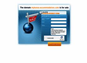 mykonos-accommodation.com