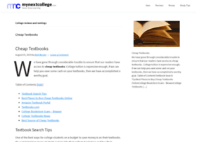 mynextcollege.com
