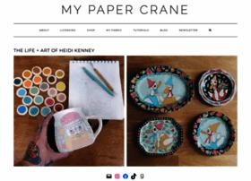 mypapercrane.com