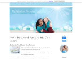 mysensitiveskincare.com