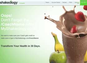 myshakeology.com