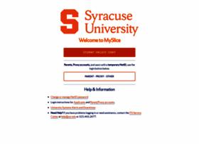 myslice.syr.edu