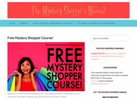 mysteryshoppersmanual.com