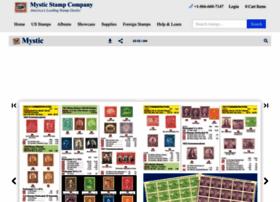 mysticstampcatalog.com
