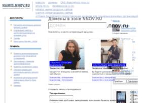 names.nnov.ru