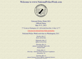 nationalpoliceweek.com